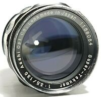 Asahi Pentax 135mm f3.5 Super-Multi-Coated Takumar M42 Screw Fit UK Fast Post
