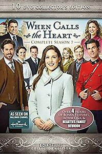 When Calls the Heart Series Seasons 7 DVD New Sealed