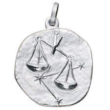 JOBO Anhänger Sternzeichen Waage 925 Sterling Silber matt Sternzeichenanhänger