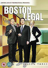 Boston Legal - Season 3 [DVD], NEW SEALED DVD, James Spader, William Shatner,
