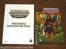 PRETERNIA HE-MAN CLUB EXCLUSIVE FIGURE MASTERS OF THE UNIVERSE CLASSICS