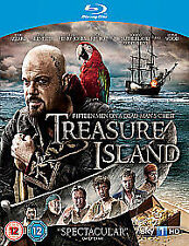 Treasure Island (Blu-ray, 2012) Elijah Wood Donald Sutherland  Eddie Izzard