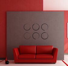 Wall Stickers Vinyl Decal Abstract Decor Modern Style Circles z1221