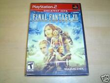 FINAL FANTASY XII SONY PLAYSTATION 2 PS2 *BRAND NEW*