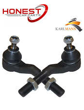 For Peugeot 406 2.0 Steering Tie Track Rod Ends Left & Right By Karlmann Quality
