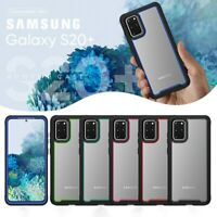 For Samsung Galaxy S20 Plus S20+ 5G Rubber Edge Shockproof Hybrid Hard Back Case