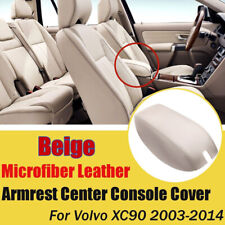 Beige Console Center Armrest Arm Rest Cover Lid For Volvo XC90 2004-2014