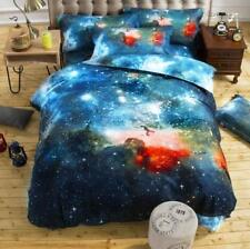 UK Hot 3D Galaxy Duvet Cover with Bedside sheet Pillow Cover Bedding All Sizes