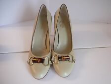 Gucci  38.5 8.5  Pebbled Leather Pumps  New~ $675
