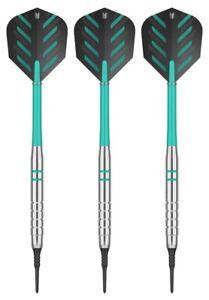 Target Rob Cross Voltage Brass Soft Tip Darts - Tungsten Look – 18 Grams