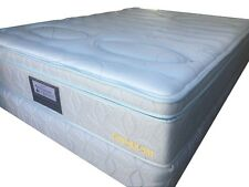 Sleepy Double Size latex Euro(box) top  Ensemble (mattress and base)