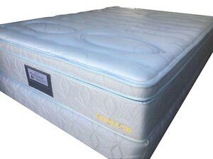 Sleepy Double Size latex Euro(box) top  Ensemble (mattress and base)