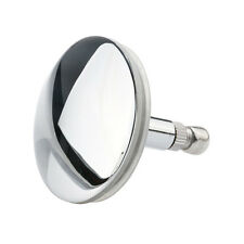 Chrome Bathtub Basin Drain Stopper Plug Bathroom Bath Plug Bathtub Drain Si S6E2