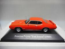 PONTIAC GTO JUDGE 1969 AMERICAN CARS ALTAYA IXO 1:43 NO MAGAZINE