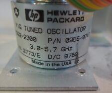 Agilent/HP 0955-0747 Yig Tuned Oscillator 3.0 to 5.7 GHz