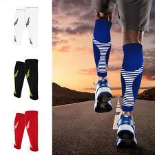 FX- Calf Compression Sleeve Support Brace Socks for Running Training Exercise Pr