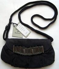 AMBRE BABZOE Damen Clutch Tasche Handtasche Grau