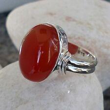 Echte Edelstein-Ringe mit Karneol für Damen