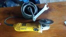 Dewalt angle grinder with blade