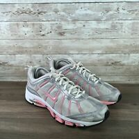 Nike Air Tri D Phylon Women Size 9.5 Silver Pink Athletic Training Running Shoes