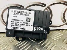 MERCEDES E350 SPORT (W212) 3.0 CDI 2011 FUEL PUMP CONTROL MODULE A2129000306
