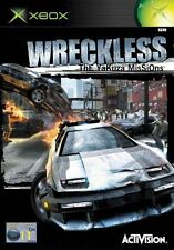 GIOCO XBOX 1 WRECKLESS THE YAZUKA MISSIONS RARO CORSE RACING 2002 POLIZIESCO