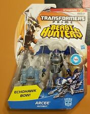 TF Prime Beast Hunters Deluxe lot Arcee Echohawk Bow Knock Out Dreadwing Ratchet