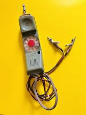 Vintage Telephone - Rotary Dial Lineman's Test Receiver - Northern Electric 1967