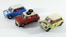 Corgi Toys 227 White & Blue Morris Mini Cooper Cars Model 3 & 339 BMC 'S' Bundle