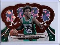 2019-20 Panini Crown Royale #31 ROMEO LANGFORD Die-Cut Crystal Parallel Rookie