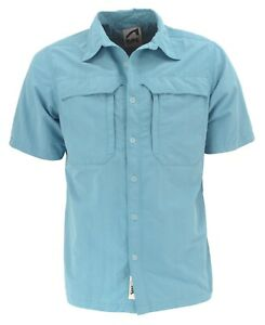 Mountain Khakis MK Men's Granite Creek Short Sleeve Button Front Sun Shirt Med
