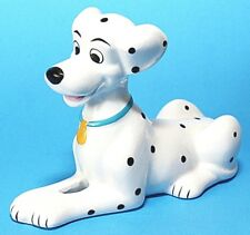Disney Perdita 101 Dalmatians Dog Figurine, EUC, White, Black, Ceramic