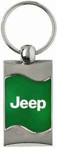 Original Jeep Logo Mopar Offroad Key Fob Chain Chrom Schlüsselanhänger Anhänger