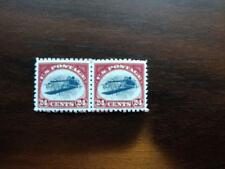 (2) TWO REPRO US Stamp INVERTED JENNY 24 cent c3 Blank Back & GUMMED FREE SHIP