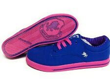 Mens Vlado Spectro 3 IG-1063-401 Royal Blue Pink Canvas Sneakers Shoes