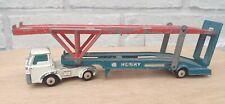 New listing Vintage Husky Models Ford D Series Mk2 Car Transporter Diecast Toy Model