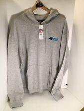 Carolina Panthers Gray Hoodie Sweatshirt SI Dunbrooke NFL Apparel - Size XL NWT