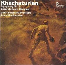 Khachaturian: Symphony No.2; Excerpts from Gayaneh (CD, Mar-1994, Russian Disc)
