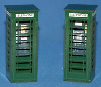 1:32 Scale Telephone Boxes - for Scalextric/Other Static Layouts