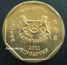 SINGAPORE 2011 $1 COIN
