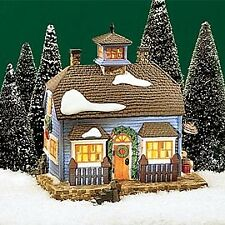 Dept 56 New England Village Chowder House Restaurant Building  ~ MINT in Box!
