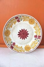 Enamel Dining Plate Vintage Old Antique Kitchenware Home Decor Collectible C-38