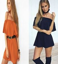 Plus Size Chiffon Sleeveless Short/Mini Dresses for Women