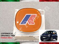 1 COPRIMOZZO FIAT PANDA KWAY 2012> ORIGINALE HUB CAP borchia LOGO cerchi in lega