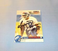 Amani Toomer Signed Autographed 1996 Score Board Card NY Giants Rookie