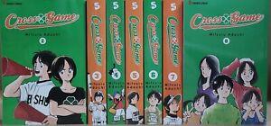 Cross Game (Vol.2 - 8) English Manga Graphic Novels SET Lot Brand New