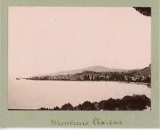 Schweiz, Montreux - Clarens  Vintage citrate print. Vaud  Tirage citrate  8x