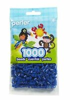 Bulk Buy: 5 x 1,000 Perler Dark Blue Color Iron On Fuse Beads: 80-19008