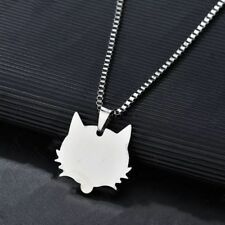 Stainless Steel Army ID Dog Tag Military Pendant Chain Silver Vouge Necklace W33