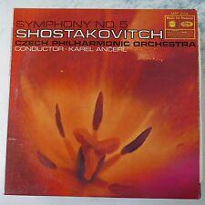 vinyl lp record SHOSTAKOVICH symphony 5 , karel ancerl